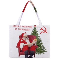 Karl Marx Santa  Mini Tote Bag