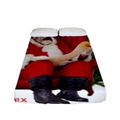 Karl Marx Santa  Fitted Sheet (full/ Double Size)