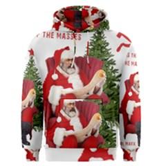 Karl Marx Santa  Men s Pullover Hoodie