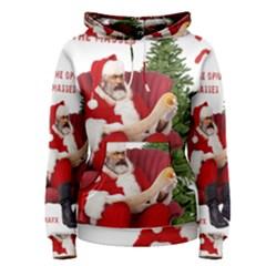 Karl Marx Santa  Women s Pullover Hoodie