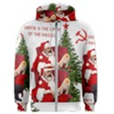 Karl Marx Santa  Men s Zipper Hoodie View1