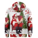 Karl Marx Santa  Men s Zipper Hoodie View2
