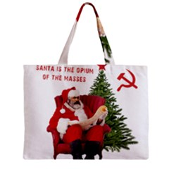 Karl Marx Santa  Zipper Mini Tote Bag