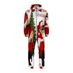Karl Marx Santa  Hooded Jumpsuit (kids)