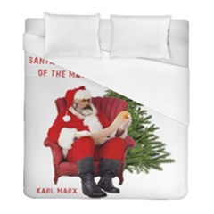 Karl Marx Santa  Duvet Cover (full/ Double Size)