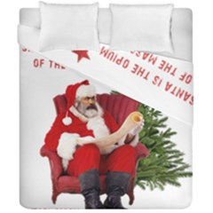 Karl Marx Santa  Duvet Cover Double Side (california King Size)