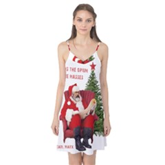 Karl Marx Santa  Camis Nightgown