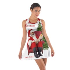 Karl Marx Santa  Cotton Racerback Dress