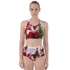 Karl Marx Santa  Racer Back Bikini Set