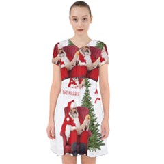 Karl Marx Santa  Adorable In Chiffon Dress