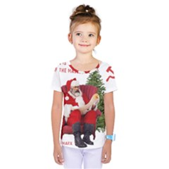 Karl Marx Santa  Kids  One Piece Tee