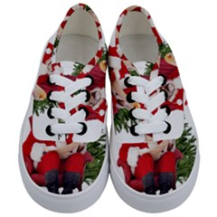 Karl Marx Santa  Kids  Classic Low Top Sneakers