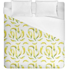 Chilli Pepers Pattern Motif Duvet Cover (king Size)
