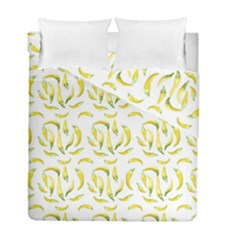 Chilli Pepers Pattern Motif Duvet Cover Double Side (full/ Double Size)