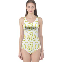 Chilli Pepers Pattern Motif One Piece Swimsuit