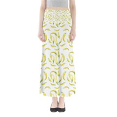 Chilli Pepers Pattern Motif Full Length Maxi Skirt