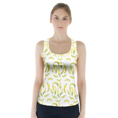 Chilli Pepers Pattern Motif Racer Back Sports Top
