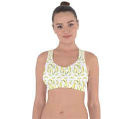 Chilli Pepers Pattern Motif Cross String Back Sports Bra