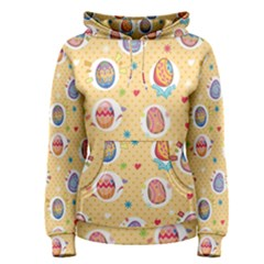 Fun Easter Eggs Women s Pullover Hoodie