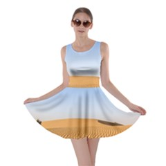 Desert Dunes With Blue Sky Skater Dress