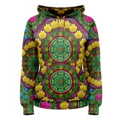 Bohemian Chic In Fantasy Style Women s Pullover Hoodie