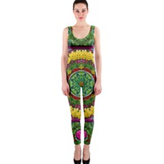 Bohemian Chic In Fantasy Style Onepiece Catsuit