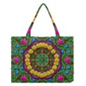 Bohemian Chic In Fantasy Style Medium Tote Bag View1