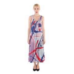 Messy Love Sleeveless Maxi Dress