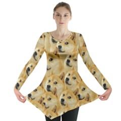 Corgi Dog Long Sleeve Tunic