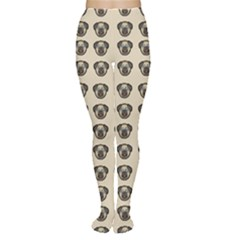 Puppy Dog Pug Pup Graphic Women s Tights