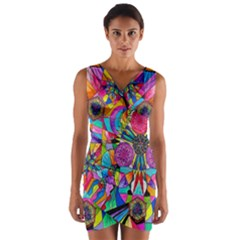 Positive Intention   Wrap Front Bodycon Dress