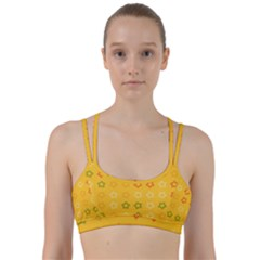 Spray Stars Pattern B Line Them Up Sports Bra