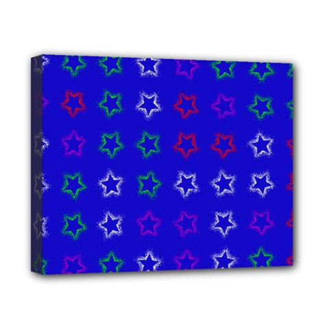 Spray Stars Pattern E Canvas 10  X 8