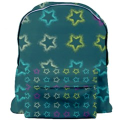 Spray Stars Pattern F Giant Full Print Backpack