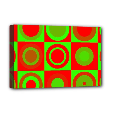 Redg Reen Christmas Background Deluxe Canvas 18  X 12