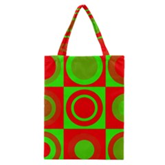 Redg Reen Christmas Background Classic Tote Bag