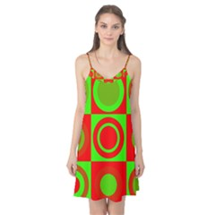 Redg Reen Christmas Background Camis Nightgown