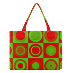 Redg Reen Christmas Background Medium Tote Bag