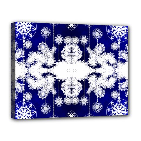 The Effect Of Light  Very Vivid Colours  Fragment Frame Pattern Canvas 14  X 11