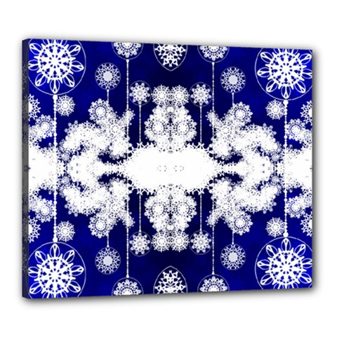 The Effect Of Light  Very Vivid Colours  Fragment Frame Pattern Canvas 24  X 20