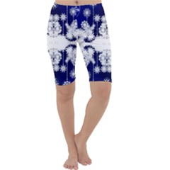 The Effect Of Light  Very Vivid Colours  Fragment Frame Pattern Cropped Leggings