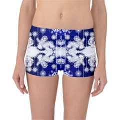 The Effect Of Light  Very Vivid Colours  Fragment Frame Pattern Boyleg Bikini Bottoms