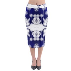 The Effect Of Light  Very Vivid Colours  Fragment Frame Pattern Midi Pencil Skirt