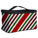 Christmas Color Stripes Cosmetic Storage Case View2