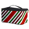 Christmas Color Stripes Cosmetic Storage Case View3