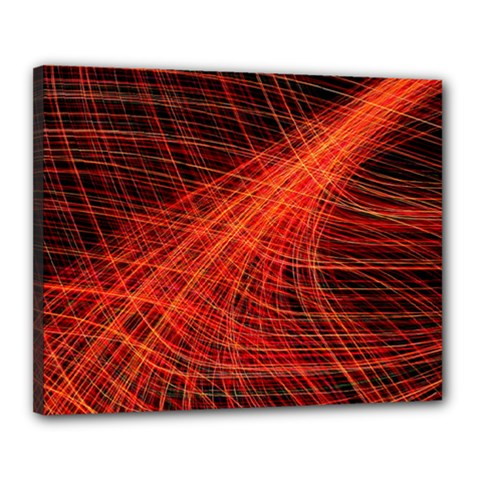 A Christmas Light Painting Canvas 20  X 16