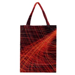 A Christmas Light Painting Classic Tote Bag