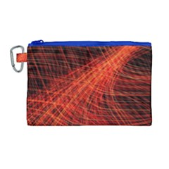 A Christmas Light Painting Canvas Cosmetic Bag (large)
