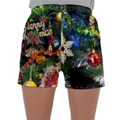 Decoration Christmas Celebration Gold Sleepwear Shorts