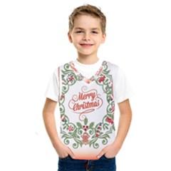 Merry Christmas Wreath Kids  Sportswear